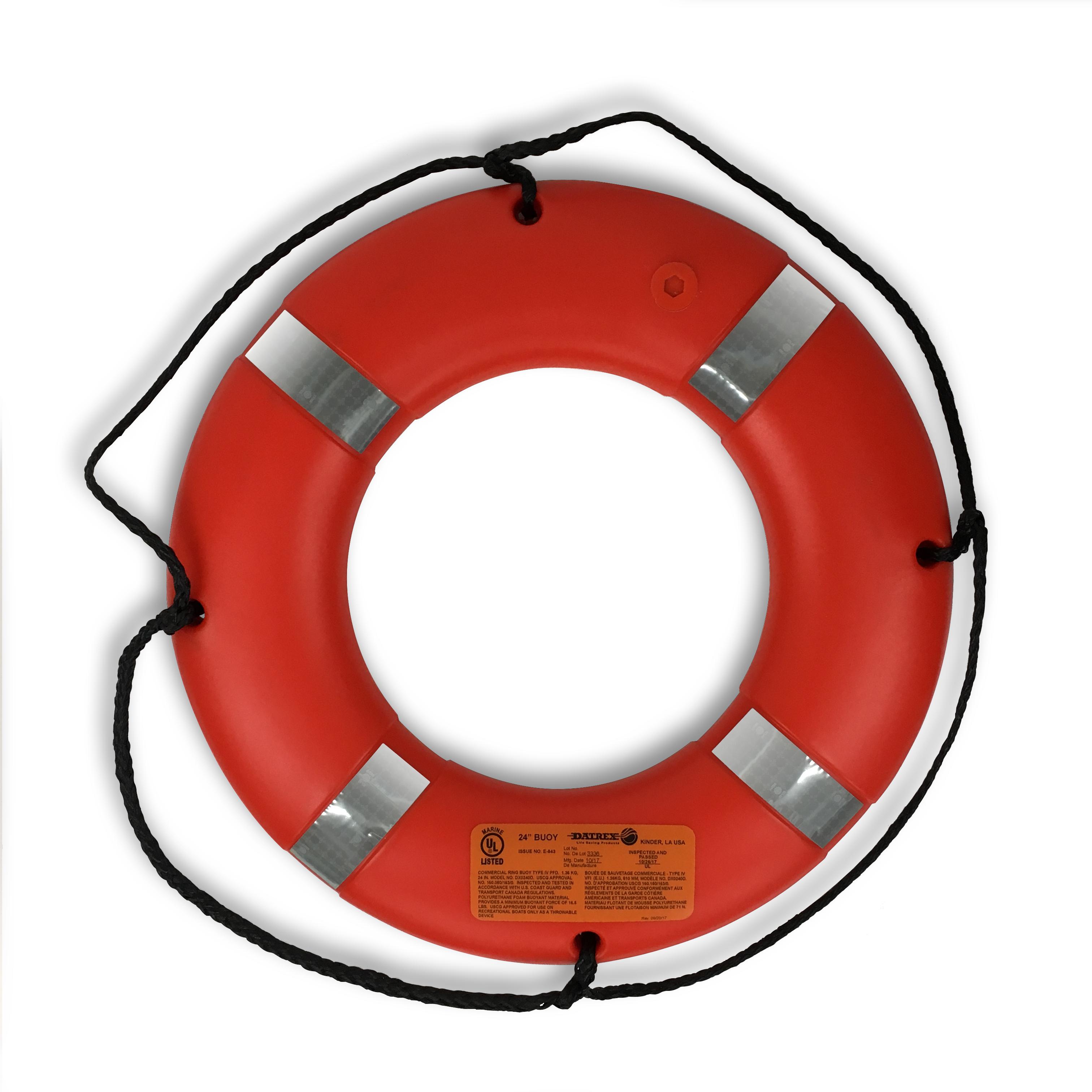 24  buoy orange reflective