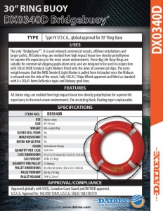 thumbnail of Datrex DX0340D bridge buoy