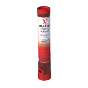 IKAROS Parachute Rockets RED