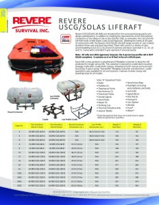 thumbnail of USCG_SOLAS Revere Brand Liferaft Sell Sheet 051717