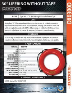 thumbnail of Datrex DX0300D orange NRT