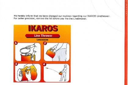 IKAROS Line Thrower instructions pdf