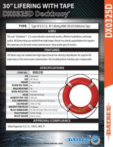 thumbnail of Datrex DX0325D orange RT