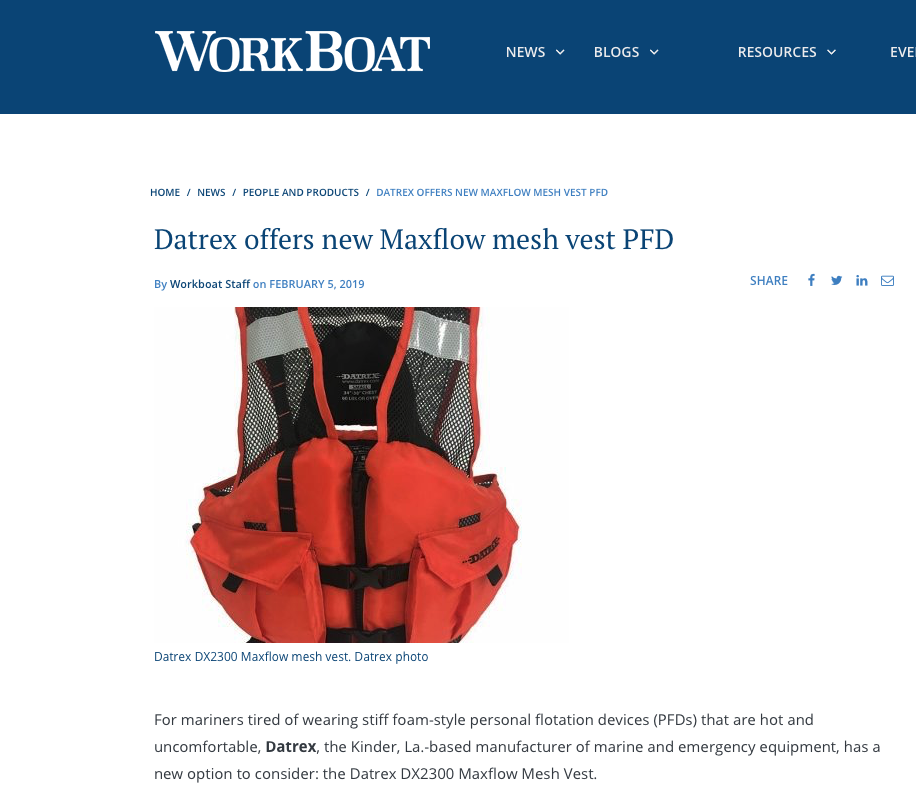 Workboat | Datrex