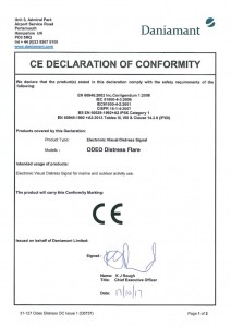 thumbnail of Odeo-Distress-Flare-D-of-C-Issue-1
