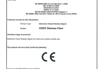 Odeo Distress Flare D of C Issue 1 pdf