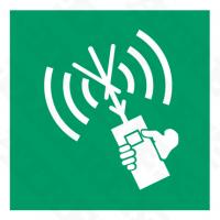 6033 Survival Craft Portable Radio