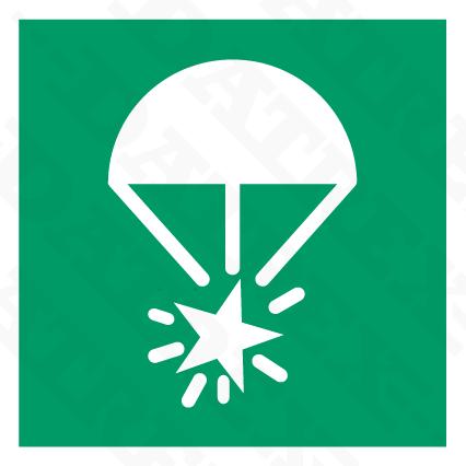 6037 Rocket Parachute Flares