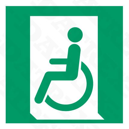 E026 Emergency Exit Handicap Left