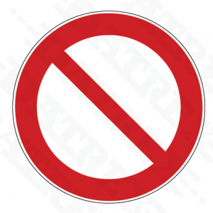 Signage PSS (General Prohibition) 2019