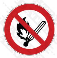P003 No open flames