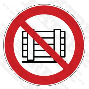 P023 Do not obstruct