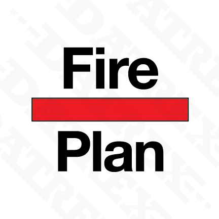Signage SIS (Shipboard fire control plan signs) 2019