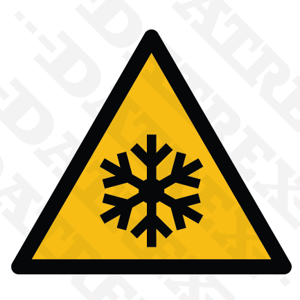 W010 Low temperature hazard