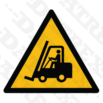 W014 Forklift truck and other industrial vehicles
