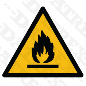 W021 Flammable material