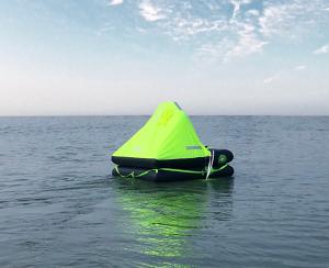 Datrex raft in water