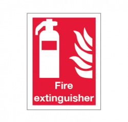Signage FES (Fire fighting Equipment Signs) 2019 with text