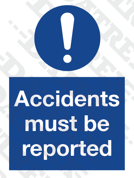 MSS Accidents must be reported